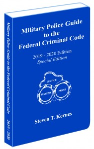 Military Police Guide Cover Angled
