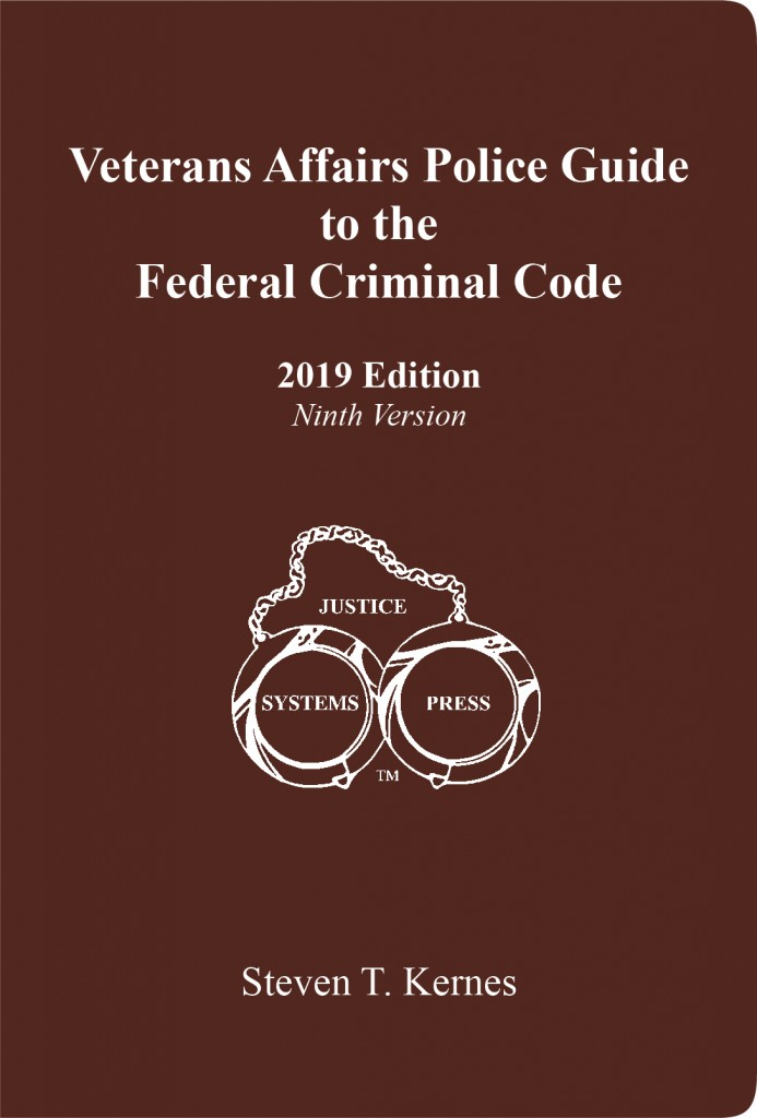 Veterans Affairs Police Guide To The Federal Criminal Code 2019